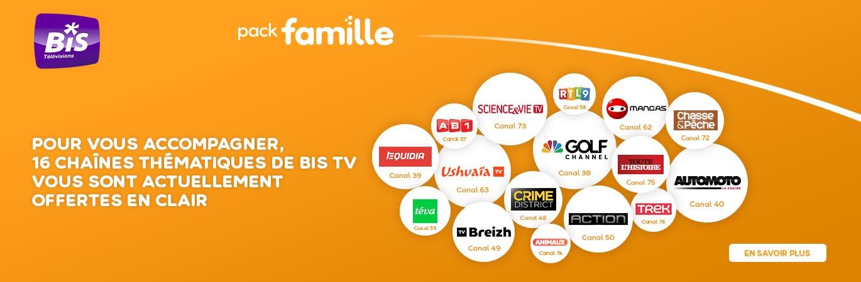 Mise en clair BIS TV en mars