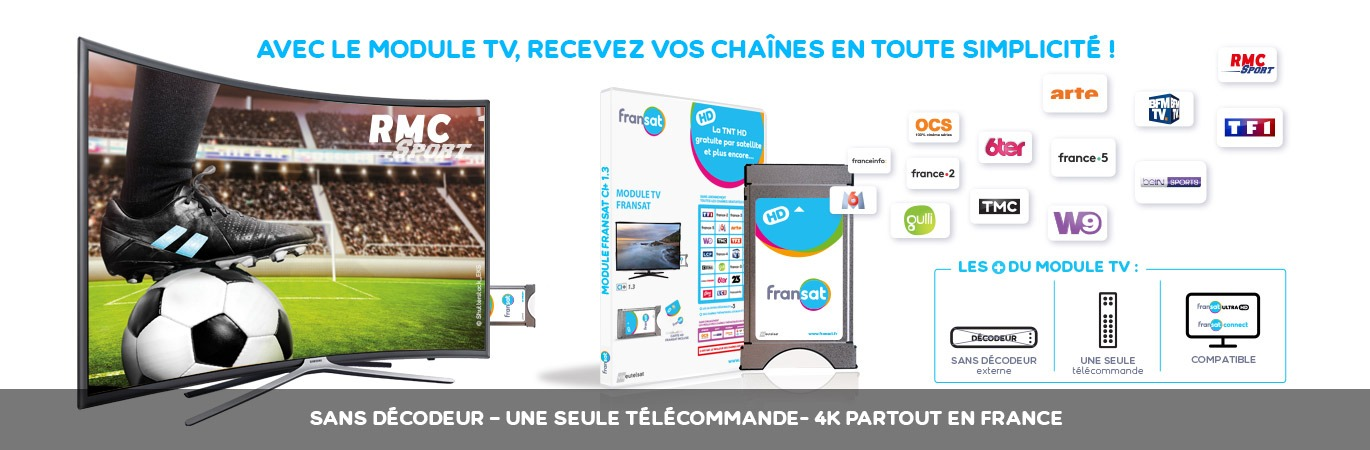 La Solution Module TV FRANSAT