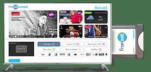 Portail FRANSAT Connect - Module TV
