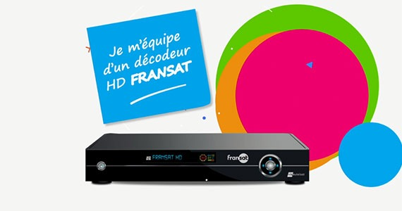 CP actions de communication Fransat pour le passage national à la TNT HD