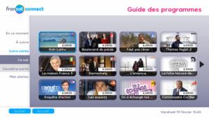 Guide TV Fransat Connect