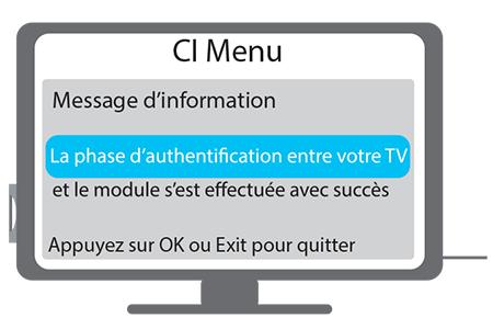 Mise en route module CI+ étape 2