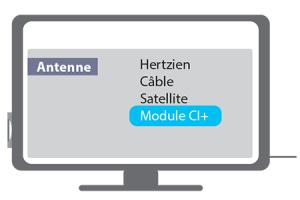 Mise en route module CI+ étape 3
