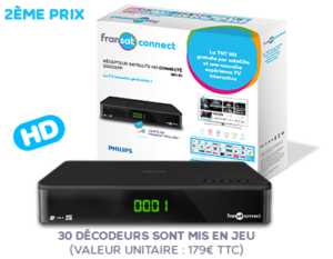 Decodeur Fransat Connect Philips
