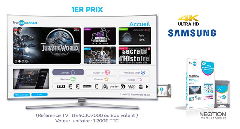 TV Samsung et module CI