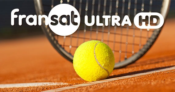 Fransat Ultra HD diffuse les phases finales de Rolad Garros