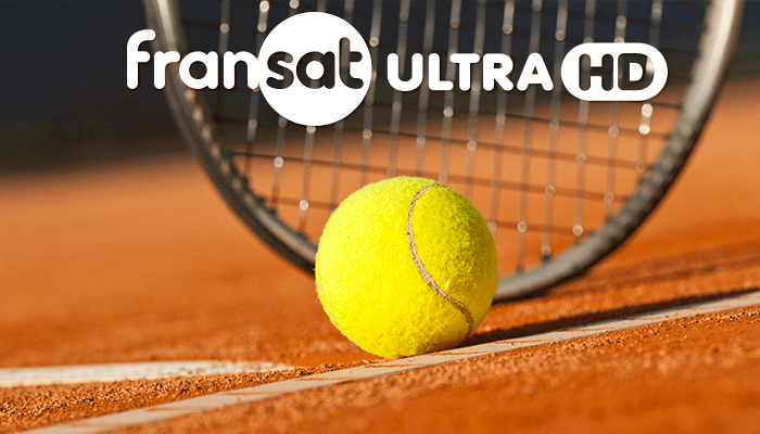 les demi-finales et les finales de Roland Garros sur Fransat Ultra HD