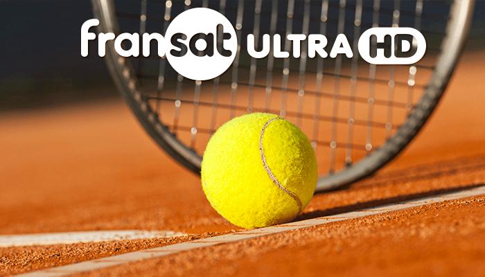 Roland Garros 2018 sur Fransat Ultra HD