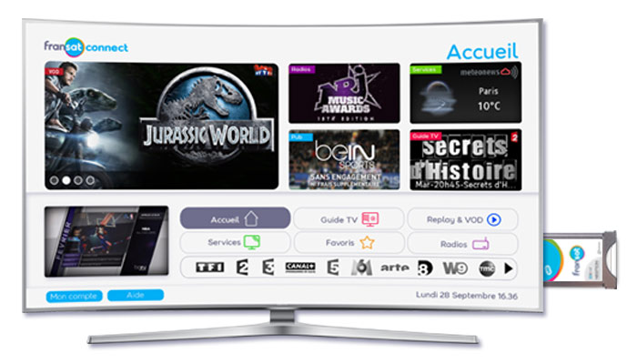 les téléviseurs Loewe compatibles avec le module CI+ Fransat