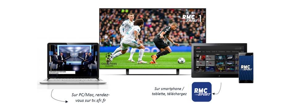 application RMC Sport