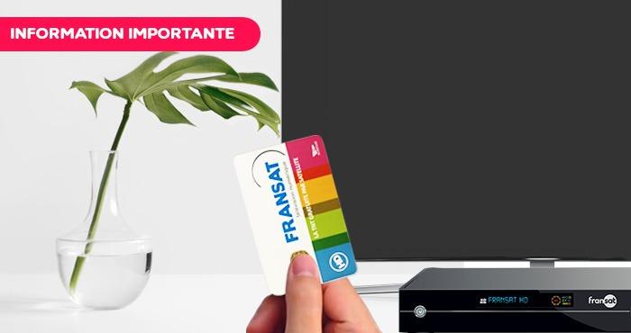 Arrêt de la commercialisation de la carte FRANSAT PC5