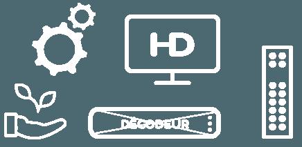 Toujours plus loin avec plus d'options ! Les plus de la solution Module TV FRANSAT :  La meilleure qualité de réception HD et UHD par satellite où que vous soyez Sans décodeur ni câble externe Une seule télécommande Compatible FRANSAT Connect Des mises à jour effectuées automatiquement Une économie d'énergie