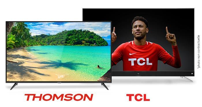 FRANSAT certifie les téléviseurs TCL et Thomson