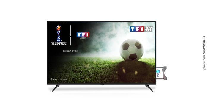 Suivez la Coupe du Monde Féminine de la FIFA 2019™  sur TF1 4K via votre module TV