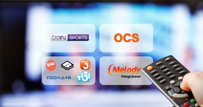 Arrêt des options TV beIN SPORTS, OCS, Pack Jeunesse et Melody