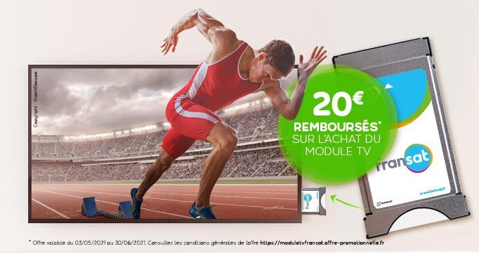 Offre Module TV FRANSAT à prix réduit : profitez-en vite
