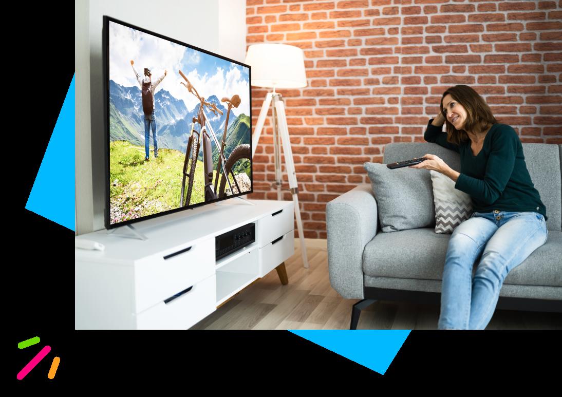 La qualité d'image et la simplicité du satellite dans votre appartement