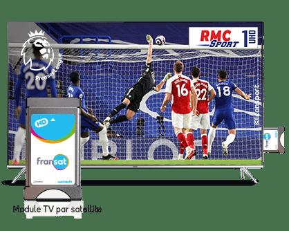 RMC Sport 1 UHD : La première chaîne disponible par satellite en ultra haute définition